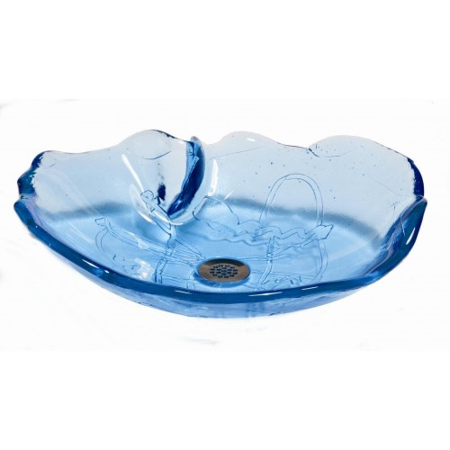 . Ocean Glass Vessel Sinks